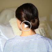 20 Stilvolle Updo Frisuren, die Sie wollen, um zu versuchen / aktuellsten Haartrends 2019