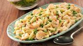 Pâtes Carbonara crémeuses aux crevettes   – Recettes