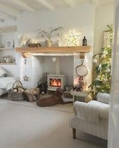30 Wonderful ways to warm your living room this winter