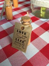 CUSTOM Engagement Occasion Favors SET, BBQ theme, Spice Favors for Marriage ceremony or Bridal Bathe