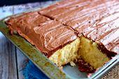 25 Texas Sheet Cakes, die bei Ihrer nächsten Party töten werden   – Sheet cake recipes