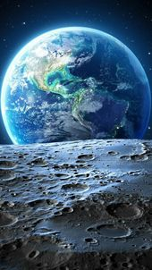 Magic Look at Planet Earth wallpaper – #earth #gra…