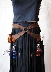 LARP-Wip: Healer belt with plenty of storage space – Be …