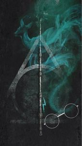 Iphone Wallpaper – Deathly Hallows – Phone Wallpaper