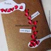 DIY: Karte für den Tag der Saudade …, #Card #present #saudade, Geschenk   – Marlen