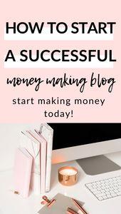 Starten Sie ein Blog mit dieser einfachen und effektiven Anleitung voller Tipps für Anfänger. Alle… – Bloggers Group Board by SHEVY