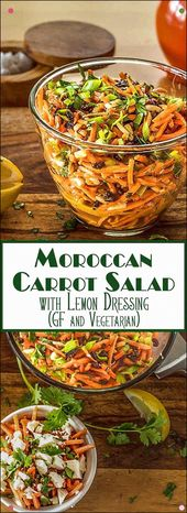 A Fresh And Crunchy Salad Of Matchstick Carrots, Toasted Almonds, And Sweet Curr… – Salad Recipes