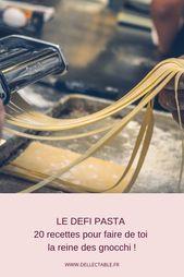 Défi Pâtes   – Les pâtes  fraîches maison / Pasta Homemade