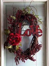 100 süße & einzigartige DIY Valentines Dekorationsideen   – ADVENT