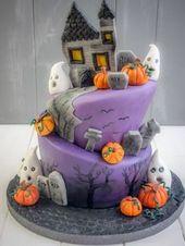 Halloween-Torte von ofenkieker.de Mehr   – Halloween – Inspiration