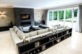 Image result for shelf behind couch room design – …