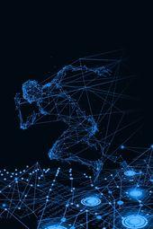 Technological Sense Business Blue Gradient Atmosphere