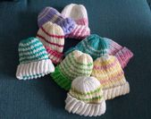 Knitting for a good cause – Newborn hats with instructions – Lifestyle potpourri