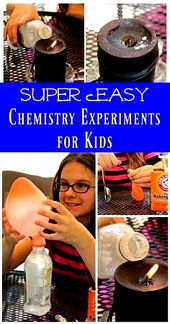Easy Science Experiments for Kids   Chemistry for elementary & middle school   homeschool science