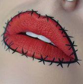 21 Wahnsinnig komplizierte Lippenmotive suchen nach Halloween-Schönheit | Brit + Co