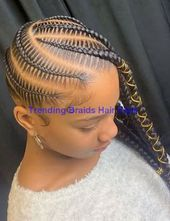 Easy & Trending Braids Hair Style Ideas #braided