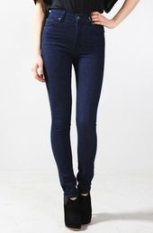 inexpensive high waisted jeans - Jean Yu Beauty