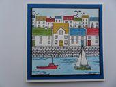 Hafenkarte – Design und Briefmarken von Hobby Art Stamps – cards