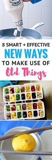 8 nuevas formas creativas y divertidas de usar cosas viejas: buscando formas de reutilizar ordina …