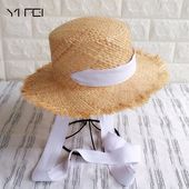 Handmade Weave Raffia Sun Hats For Women Summer Women Outdoors Sunshade Straw Hat Beach Hat Fold able Hat – #Trick & tips for mens & womens hat