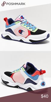 💕HP💕Women Champion rainbow sneaker
