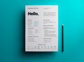 Illustrator Resume Great work from a designer in the Dribbble community; your best resource to disc...