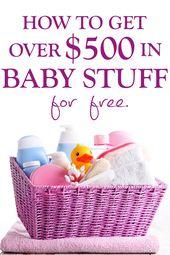 Über 500 $ KOSTENLOSES MATERIAL für Neugeborene (und ihre Mütter!)!