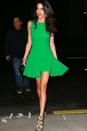 Amal Clooney Fashion Style Tips for the Office: Be Loud and Proud  #clooney #fas…