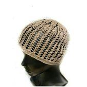 flax hat Womens Beanie Hat for summer Crocheted Sun Hat women's hat Flax handmade openwork hat for girls – crochet hat