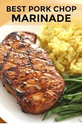 Easy Pork Chop Ideas | The Best Pork Chop Marinade