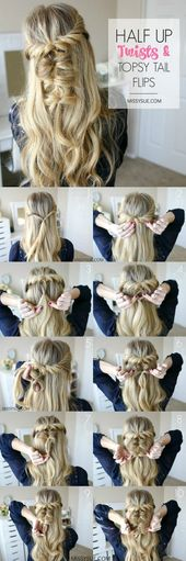 Hair Tutorials : The Best Hairstyles Tutorial For A Perfect Prom Look