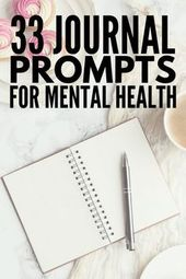 Journaling for Depression and Anxiety: 33 Journal Prompts for Mental Health 1