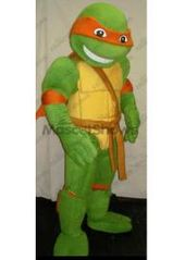 mascotte de michelangelo tortue ninja clbre tort