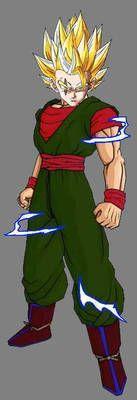 Dares Ssj2 By Daresx Artist Digital Artist Dragon Ball