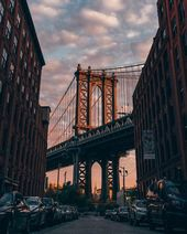 DUMBO with Empire State Building hiding behind – #…