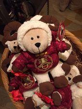 Starbucks Bearista Bear 2019 China limited Merry Christmas Gift White Elk Xmas
