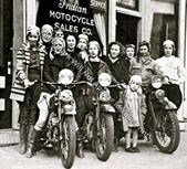 1926 Inderin Motorradfahrer Shop seltene Aktion Foto Nachdruck Bild M18   – Products