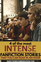 4 Of The Most Intense Harry Potter Fanfiction Stories You Can Read In An Hour Fan Fiction Stories Harry And Ginny Fanfiction Harry Potter Fanfiction