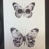 Haben Sie viele Schmetterlinge in einer Art und haben Sie Schädel in der ersten Rippe in der zweiten usw.