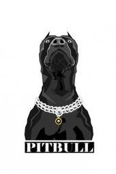 Pitbull Found On Appszoom Com Dibujos De Pitbull Dibujos De