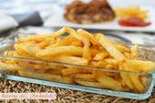 Cómo hacer papas fritas perfectas: tiernas por dentro y crujientes por fuera …   – PATATAS