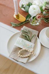 Photo of Fijne, florale decoratie voor een doop- of welkomstfeest – mevrouw K. zegt ja