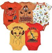 Youth Designz Baby Body Strampler Modell K/önig Simba