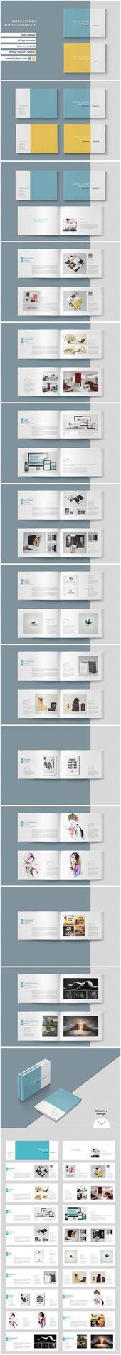 This 40-page minimum brochure template is for designers who work on products / g… – Templates