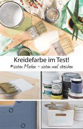 Kreidefarbe kaufen – aber welche? Sieben Farben im Vergleich   – Wendys Wohnzimmer DIY