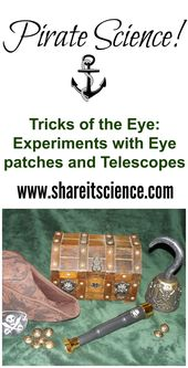 Share it! Science News: Pirate Science: Tricks of the Eye. Science experiments w... 2