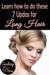 Brauchen Sie Ideen für Frisuren? Mit langen Haaren kannst du von süßen Brötchen bis zu klassischen Wellen super kreativ und stylisch werden. Hier sind 7 Hochsteckfrisuren für lange Haare und wie man …