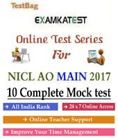 Pin On Niacl Ao Assistant Mock Test