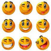 smileys große augen