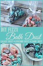 DIY Fizzy Bath Dust